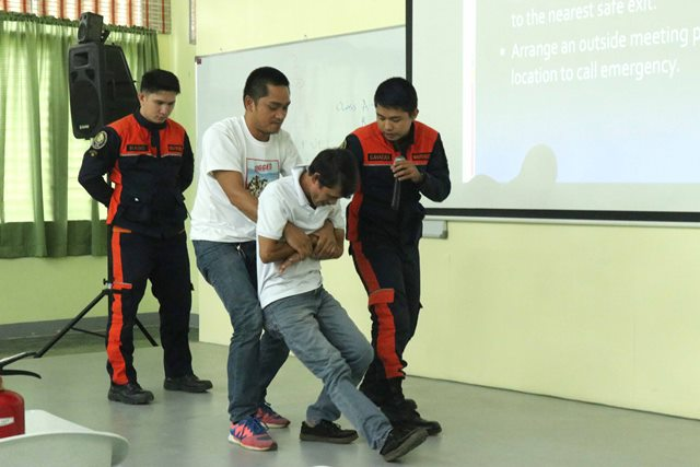 IAS Undergoes Fire Drill and Seminar