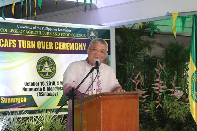Agbisit Assumes Office as New CAFS Dean