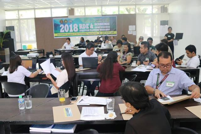 IAS Holds 2018 RDE/Academic Workshop and Strategic Planning