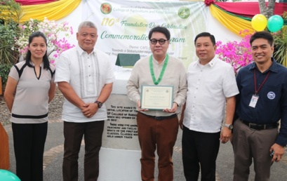 CAFS Marks 110 Years: Mascariñas Makes a Homecoming