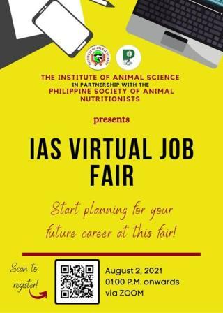 IAS Hosts First Virtual Job Fair